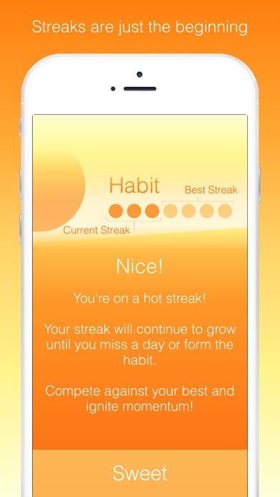 Better Habits: Real Motivation Screenshots