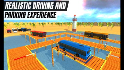 Real Coach Bus Parking 2018 Скриншоты3