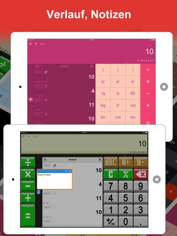 DayCalc Taschenrechner HD Pro Screenshot