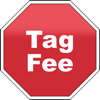 Tag Fee Icon