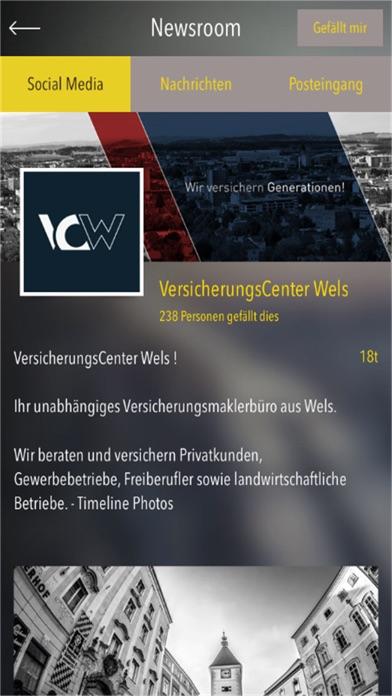 Screenshot von VersicherungsCenter Wels2