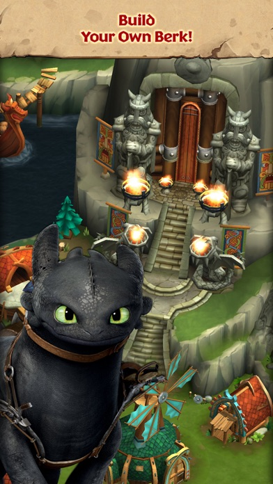 Dragons rise of berk on the app store iphone screenshot 1 ccuart Image collections