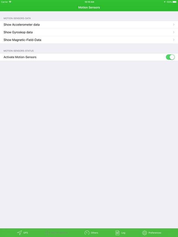 Sensor_Data Pro Screenshots