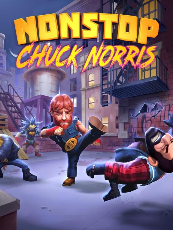 Nonstop Chuck Norris на iPad