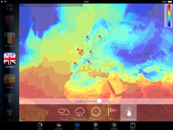 3D Земля - виджет погода Скриншоты10
