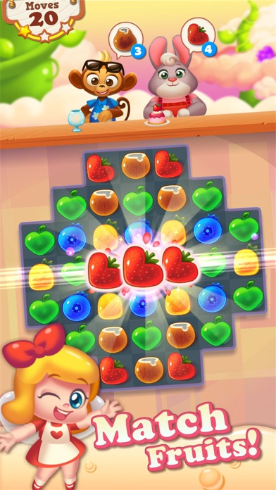 Tasty Treats - A Match 3 Puzzle Game Скриншоты3