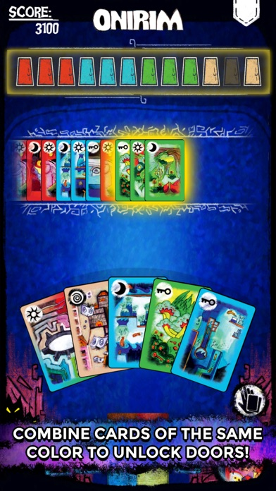 Screenshot #7 for Onirim - Solitaire Card Game