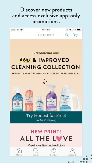 download The Honest Company apps 3