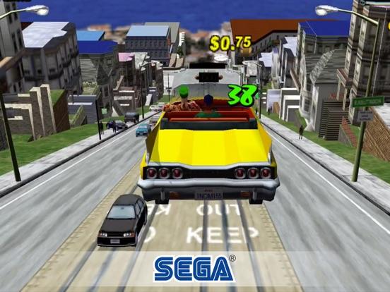 Screenshot #1 for Crazy Taxi Classic