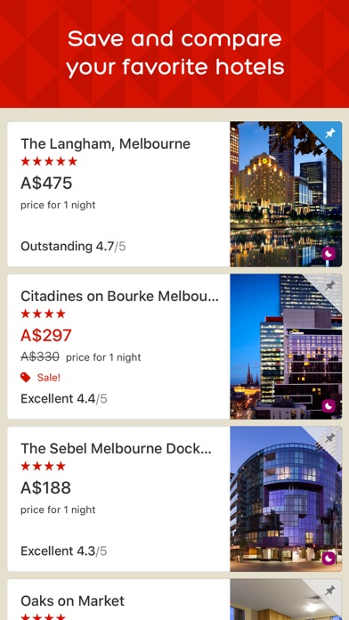 Hotels.com screenshot three
