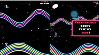 Ski On Neon - Top Flying Game! Screenshots