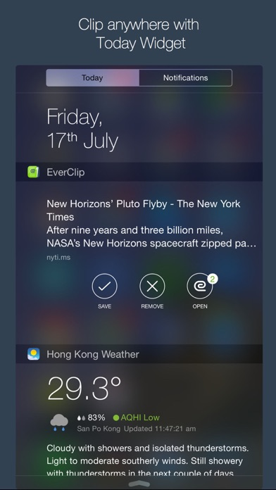 EverClip 2 - Clip everything to Evernote Screenshots