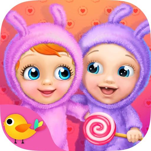 顽皮双胞胎小宝宝-照顾婴儿兄妹