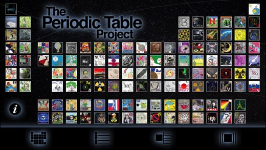 The periodic table project on the app store iphone screenshot 1 urtaz Images