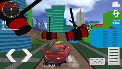 Imposible Car Stunts Mega RampСкриншоты 2