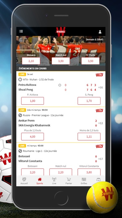 download Winamax apps 3