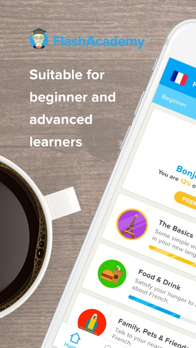 download FlashAcademy Language Learning appstore review