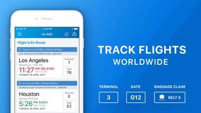 The Flight Tracker Pro Screenshot