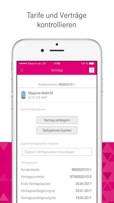 MagentaSERVICE Screenshot