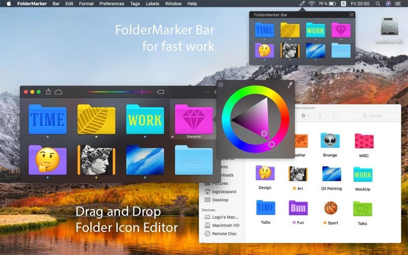Screenshot FolderMarker