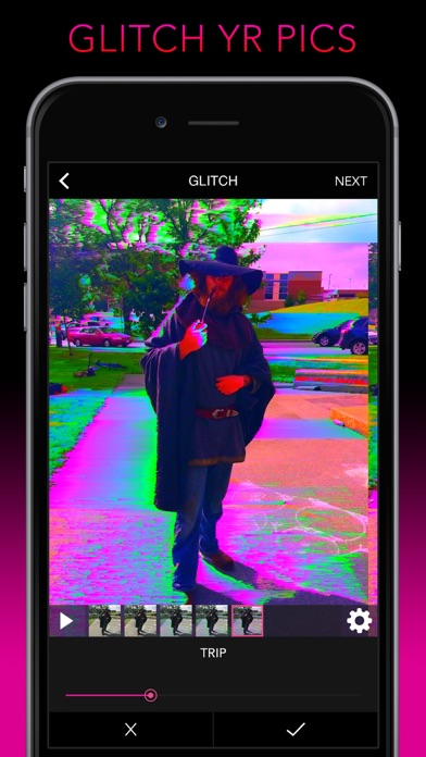 Screenshot #7 for Glitch Wizard - Distort Photos to Trippy GIFs