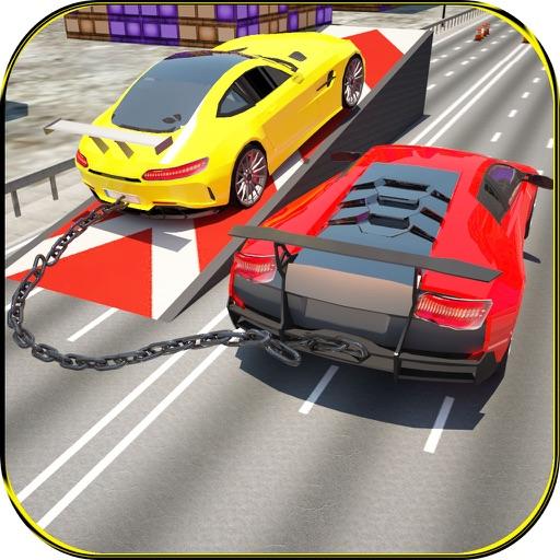 Hybrid Chained Car Racing