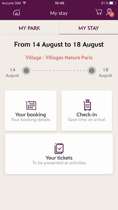 Villages Nature® Paris screenshot