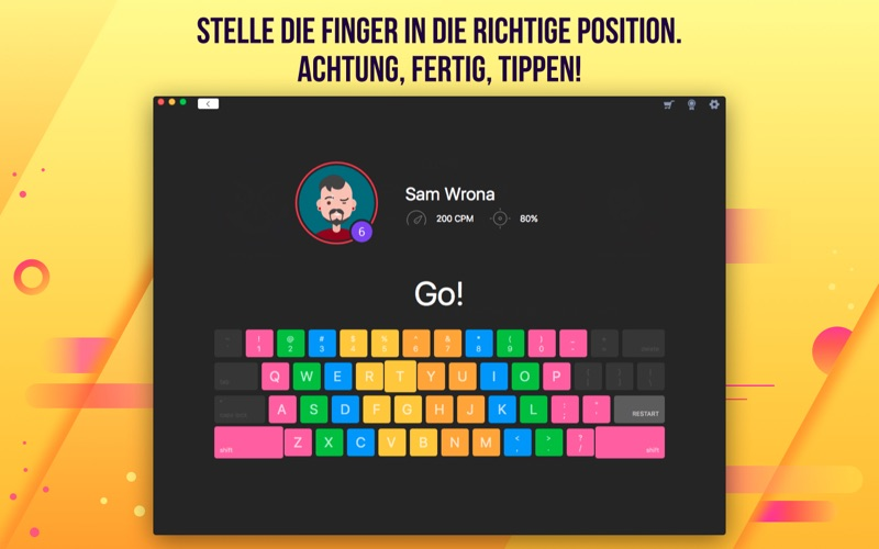 Master of Typing 2 - Touch Typist Tutor Screenshot