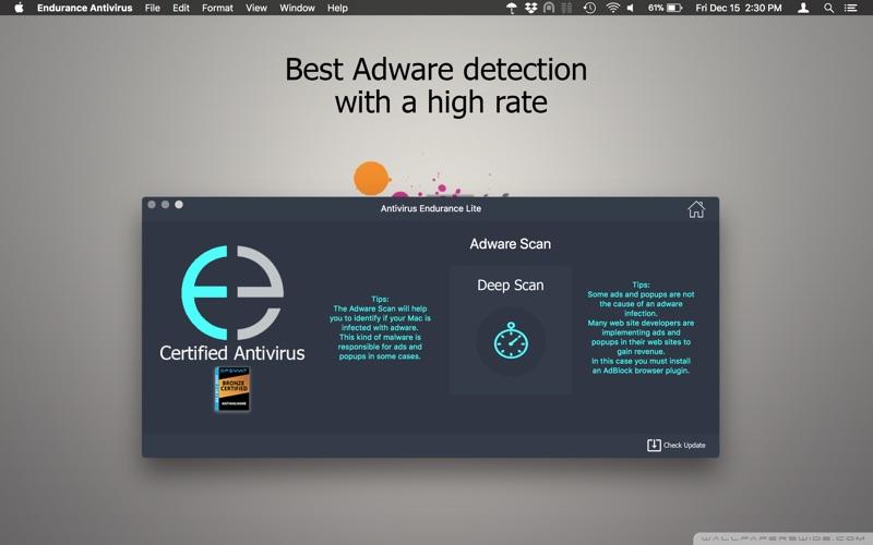 Antivirus Endurance LITE for Mac