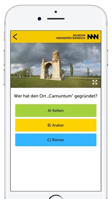 Museum Niederösterreich - Per App durch das Museum Screenshot