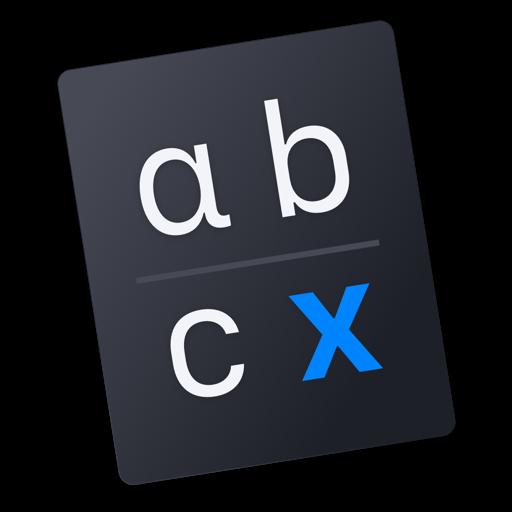 Dreisatz — rule of three icon