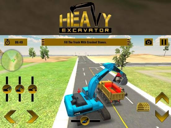 Экскаватор-симулятор - город строитель Скриншоты8