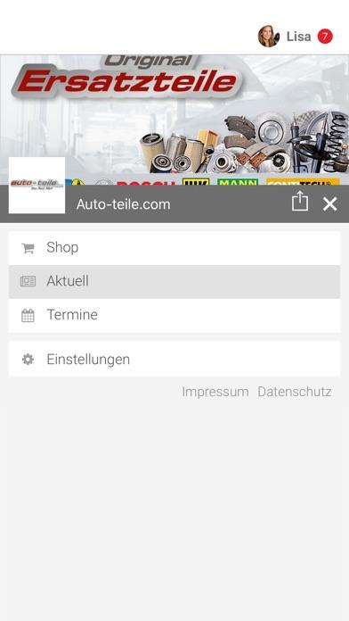 Screenshot von Auto-teile.com2