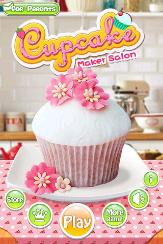 Cupcake Maker Salon screenshot 1