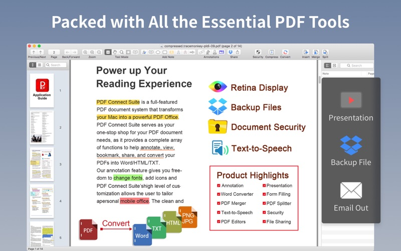 PDF Professional Suite Screenshot - 1