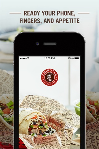 Chipotle screenshot 1