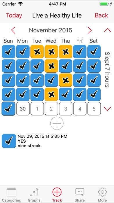 Habits Pro The Habit Tracker Screenshots