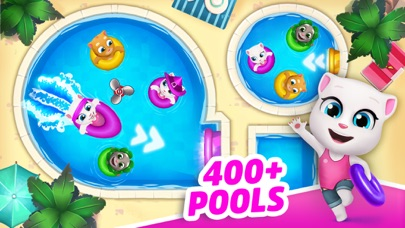 Screenshots of Talking Tom Pool for iPhone