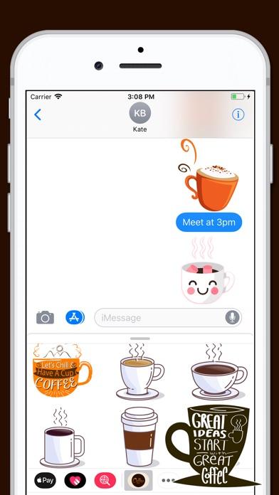 download Coffee Gourmet Sticker apps 1
