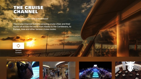 Screenshot #1 for The Cruise Channel