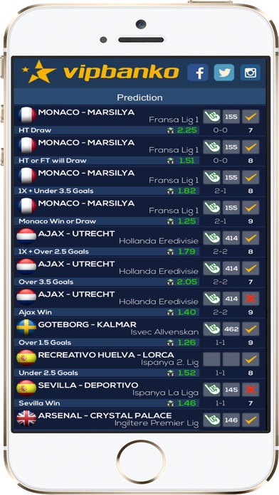 Screenshot of VIP Pronostici Calcio Serie A2