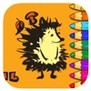 Porcupine Coloring Book Games For Kids Version electronic book format