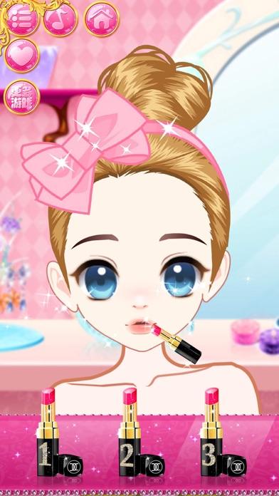 かわいい王女 - 女の子のドレスアップゲームのスクリーンショット2