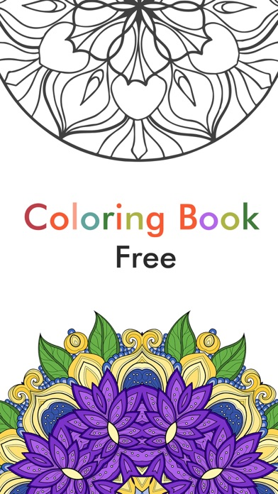 Adult Color Therapy Pages - Flower Coloring Book on the App Store