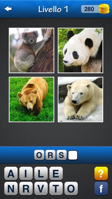 Screenshot of Trova la parola! ~ Quiz con 4 immagini e 1 parola1