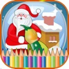 Christmas Preschool Toddler Coloring
