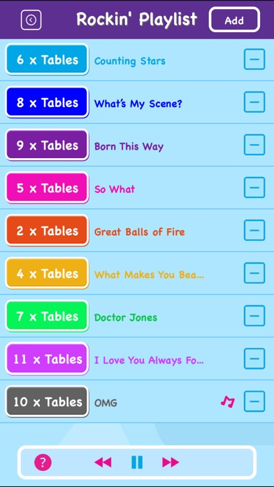 download Maths Rockx: Times Tables! appstore review