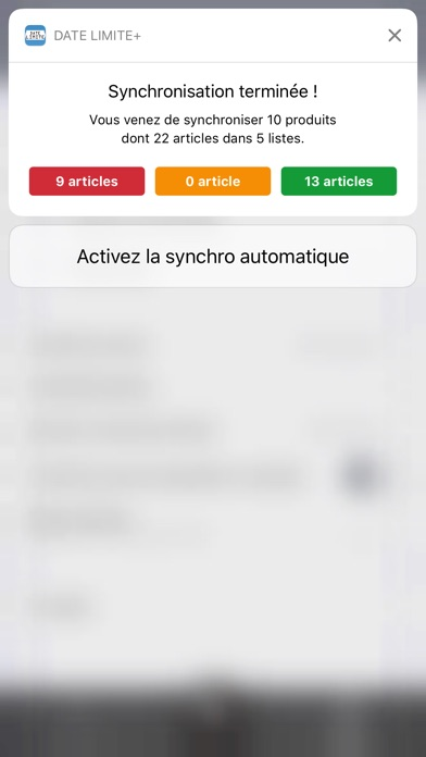 Date Limite+ Screenshots