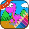 Dinosaur3 coloring book for kids