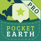 Kostenlos für iOS: Pocket Earth PRO Offline Maps & Travel Guides